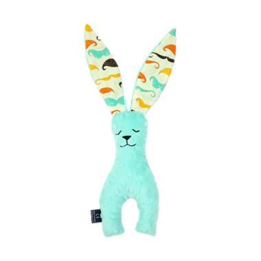 harga La Millou DollBao Minky Bunny Doll Boneka - Mustache Candy Green Blibli.com