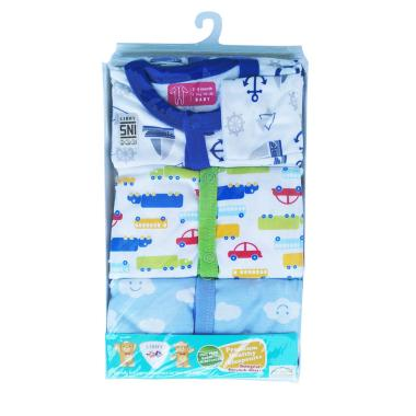 Libby Sleepsuit Premium Piyama Tutu ... idur Bayi [3-6 Bulan/SNI]