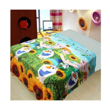 Michiki Frozen Summer Limited Edition Selimut - Biru [150 x 200 cm]