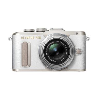 Olympus PEN E-PL 8 KIT 14-42mm EZ Kamera Mirrorless - Putih