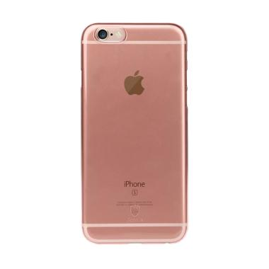 Baseus Clear Series Casing for iPhone 6 or iPhone 6S - Rose Gold