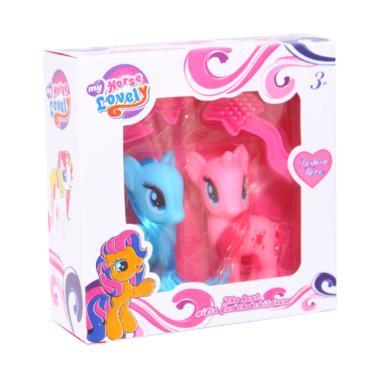 Jual denpoo dt 023d toaster double slot Source Istana Kado Double Pony Horse .