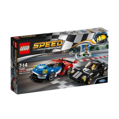 Lego Speed Champions   Ford Gt  Ford Gt Blocks Stacking Toys