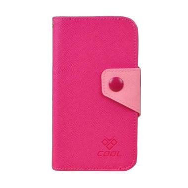 OEM Case Rainbow Cover Casing for Apple iPhone 6S Plus - Merah Muda