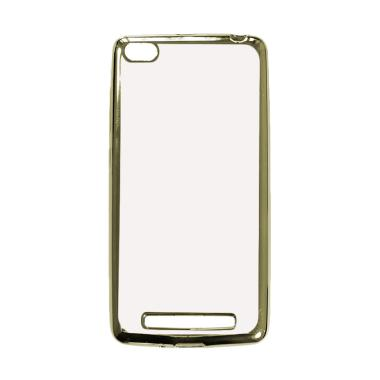 OEM Case Shining Chrome Softcase Casing for Oppo Neo 7 A33W - Silver