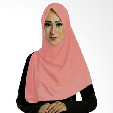 Ruman Hijab TS Ruman Square Kerudung Segi Empat - Pink