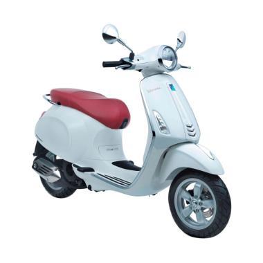 Vespa Primavera 150 i-Get Sepeda Motor - Monte Bianco [OTR Bandung]