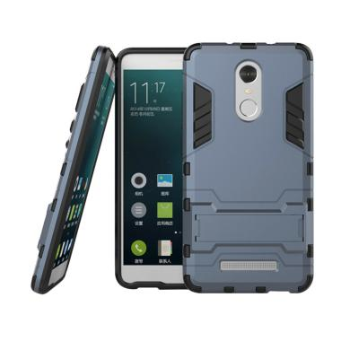 Case Shield Armor Kickstand Series  ... omi Redmi Note 4X - Hitam
