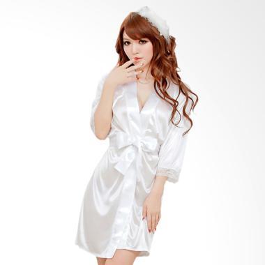 Kimochi Me Lingerie WKIM051 Kimono Lingerie - Putih