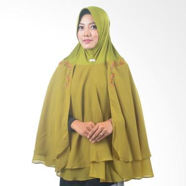 Atteena Hijab Alifa Rafiqah XL Jilbab Instant - Hijau Lumut