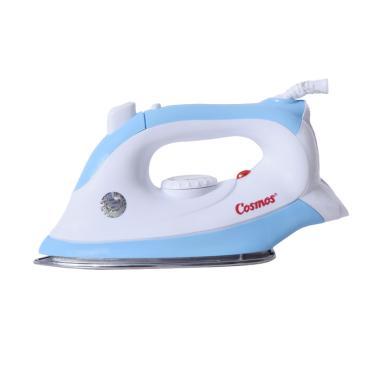 Cosmos Cis438 Dry Iron Setrika Listrik - Biru [Jet Spray/400 W]