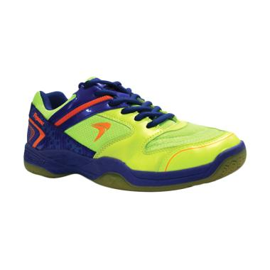 Flypower Pawon Citrus Sepatu Badminton - Blue Orange