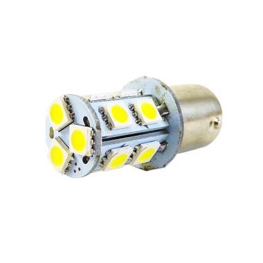 LED Stop Lamp Strobo Lampu Rem 13 Mata Strobo Kedip Blitz - Putih
