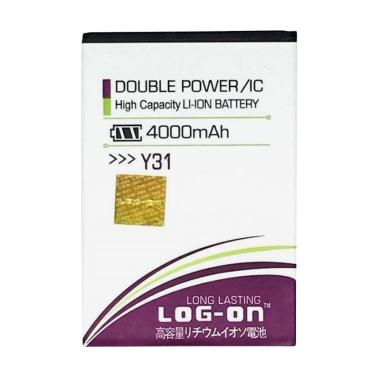 Log On Double Power & IC Battery for Vivo Y31 [4000 mAh]