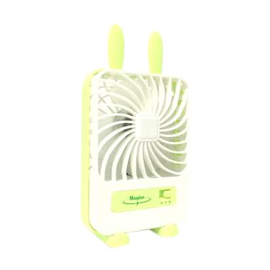 Maspion Minifan MF-02 Kipas Angin - Hijau [USB Portable Battery]