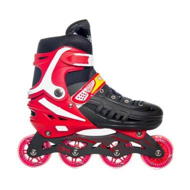 Power Line HB22 Recreational Inline Skate Sepatu Roda - Red