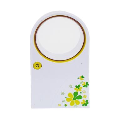 Edelweiss Portabel Kipas Angin - Kuning [Tanpa Baling-baling]