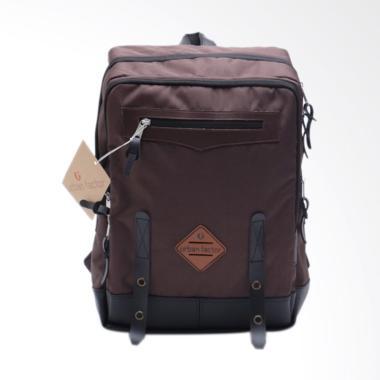 Urban Factor Crowded Street Tas Ransel Backpack - Brown