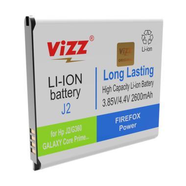 Vizz Battery Double Power Samsung J2/G360/Core Prime [2600 mAh]