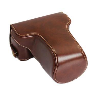 Camwear Leather Case Dark Brown for Fujifilm XA3/XA10 jpckemang