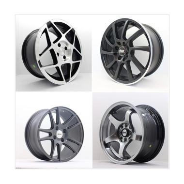 HSR Wheel Set With Tyres Z6250 Ring 15 Velg + Ban [Barang Di Kirim]