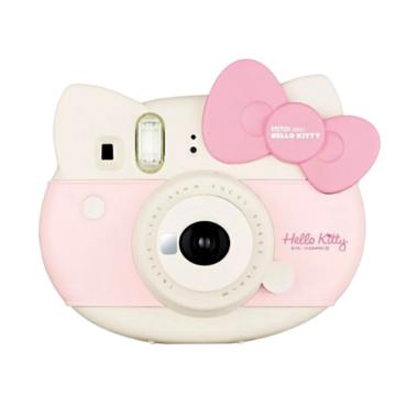 harga Instax Mini 8 Hello Kitty Package Kamera Polaroid White Star Pink Blibli.com