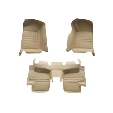 Frontier Karpet Mobil Set untuk Daihatsu Terios - Beige