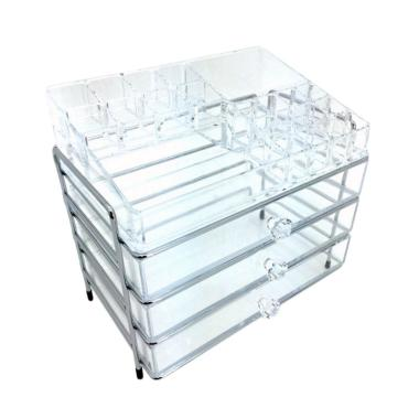 LECOCOPETITE Acrylic Premium Stainl ...  SYS364 Make Up Organizer