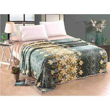 Lucky Blanket Sunflower Selimut Bulu Dewasa [180 x 200 cm]
