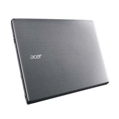 Acer E5475G Notebook - Steel Gray [Core i3-6006U/4GB/1TB/Win10]