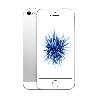 harga Apple iPhone SE 16 GB Smartphone - Silver [Garansi Distributor 1 Tahun] Blibli.com