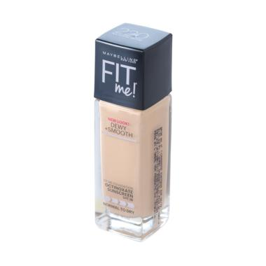 Maybelline Fit Me Dewy + Smooth Foundation - 220 Natural Beige - 30ml