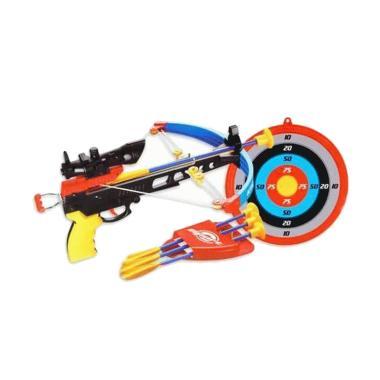 harga Momo Crossbow Set 35881K-1 Mainan Panah dan Sasaran 1 Set - Multicolour Blibli.com