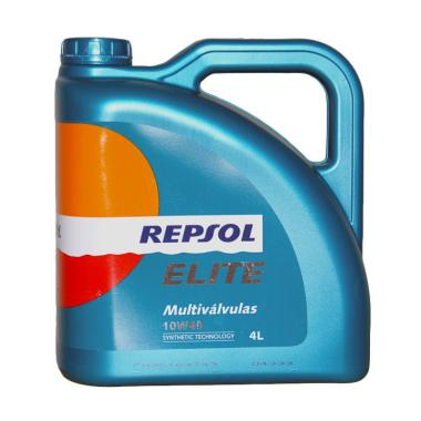 Repsol Multivalvulas 10W 40 Synthetic Technology Oli Pelumas 4 Liter