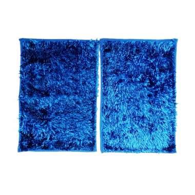 Ellenov Microfiber Metalic Anti Slip Keset Cendol - Biru Tua