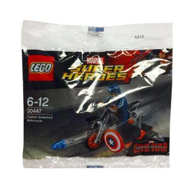 LEGO 30447 Marvel Super Heroes Civi ... 's Motorcycle Mainan Anak