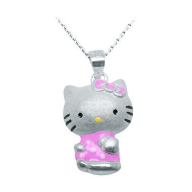 Anna Silver Kitty SWP-0005 Pendant Kalung Wanita - Silver