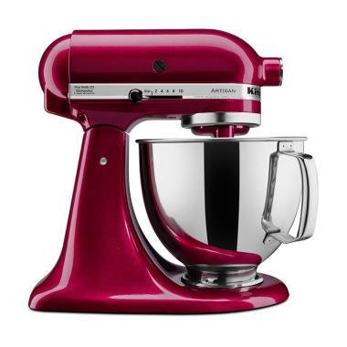 Kitchen Aid 5KSM150PSEBX Artisan Series 5 QT Mixer - Bordeaux