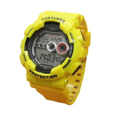 Fortuner FR3257 Digital Jam Tangan Pria - Kuning