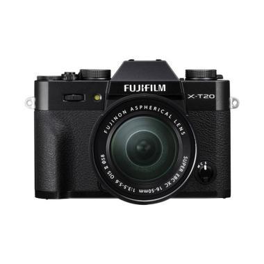 Fujifilm X-T20 Mirrorless Digital Camera with 16-50mm Lens Black