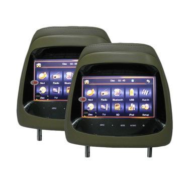 AVT HM-7188 Headrest Monitor for Mitsubishi Pajero TV Mobil - Beige