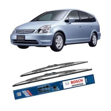 Bosch Advantage Wiper Kaca Depan Mobil for Honda Stream RN [24 dan 14 Inch]