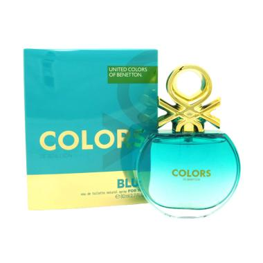 Benetton Colors De Benetton Blue For Woman EDT Parfum [80 ML]