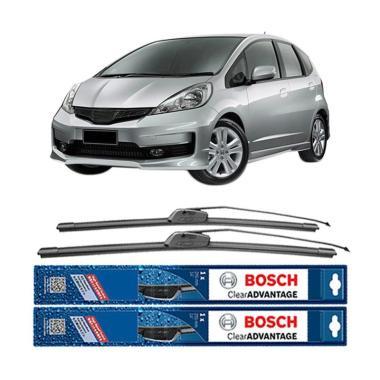 harga Bosch Frameless New Clear Advantage Wiper Mobil for Honda Jazz [26 & 14] Blibli.com