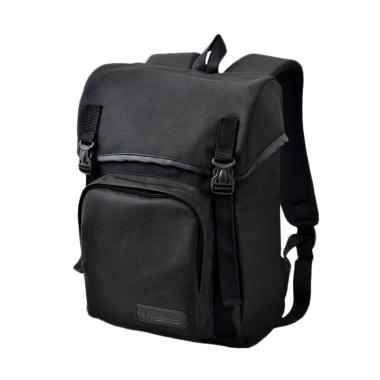 Miraculous Tipe Casual 2 Tas Ransel Laptop - Total Black