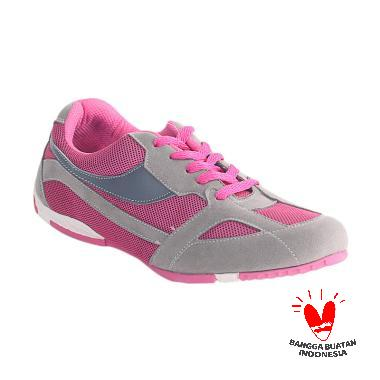 Blackkelly LNU 299 Laramore Sepatu Olahraga Wanita - Grey Red