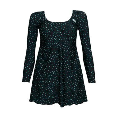 Lasona SWJ-C1286-L01359 Baju Renang ... ngan Panjang - Dark Green