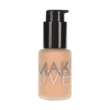 Make Over Ultra Cover Liquid Matt Foundation - 04 Amber Rose