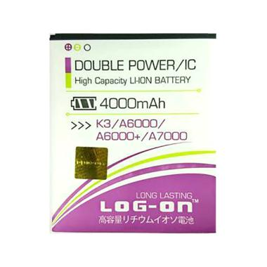 Log On Double Power And IC Battery For Lenovo K3 A6000 A7000