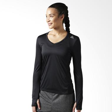 Reebok BK9978 Longsleeve Women's Tee Baju Olahraga Wanita Muslim